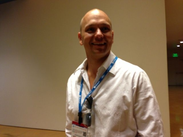 Tony Fadell, father of the iPod and founder of Nest, at GigaOm Roadmap in San Francisco.