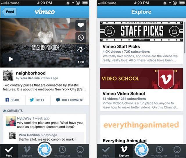 Vimeo-iPhone