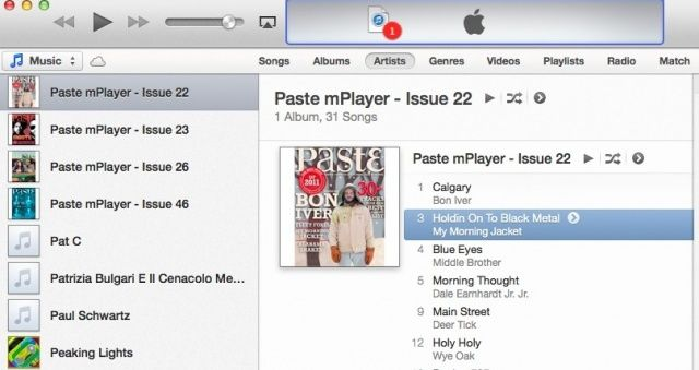 Add to iTunes 11 Up Next