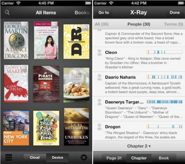 X-Ray for Books comes to iOS.