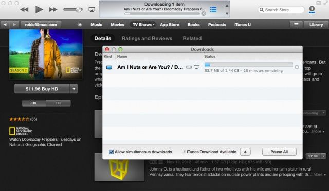 find the download manager again in itunes 11 os x tips cult of mac