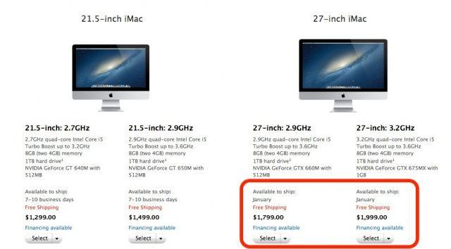 iMac-January-shipping