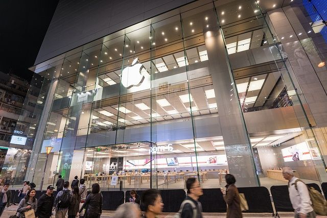 Apple S New Store In Hong Kong Features A Massive 30 Foot