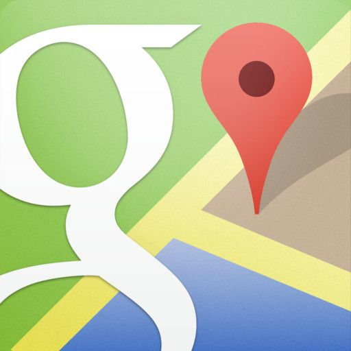 Google Maps: right here