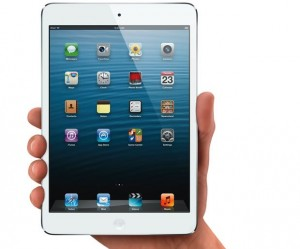 The iPad mini is driving Apple's growth.