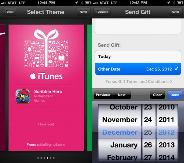 This Holiday Season, Gift Apps Directly From The App Store ...