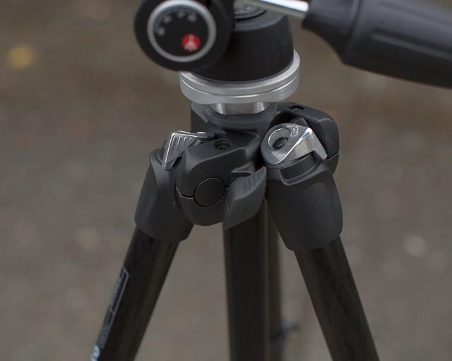 Manfrotto 294 carbon fiber tripod 6