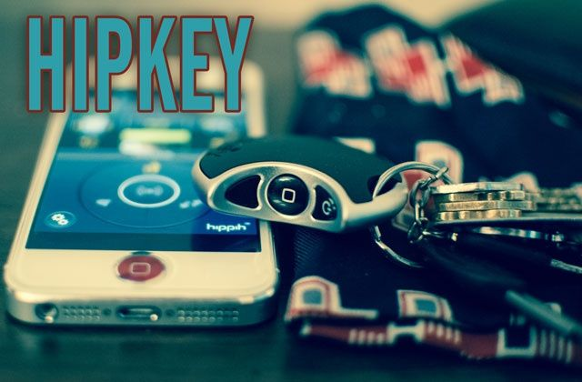 The HipKey: never lose your keys (or iPhone) again.