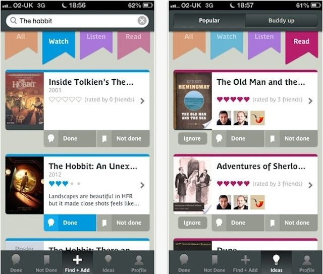 Manage Your Wishlist For Books, Movies, And Music With Done Not Done