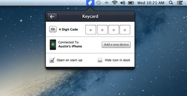 Keycard for Mac