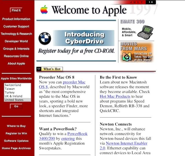 applewebsite1997