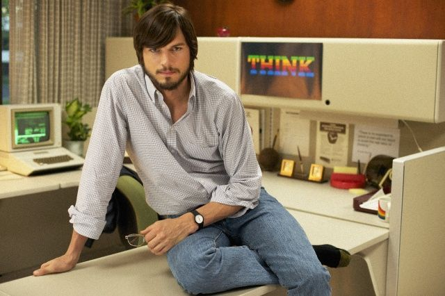 Ashton Kutcher played Steve Jobs in 2013 biopic.