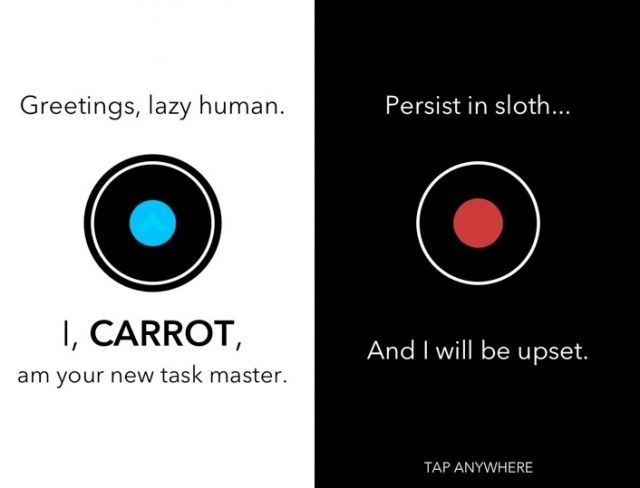 Carrot: one app, two personalities.