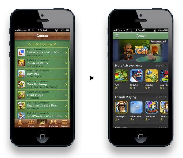 iOS 7 gamecenter 2.0