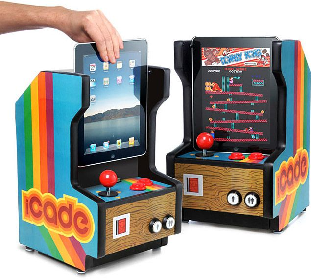 The iCade was made for this.