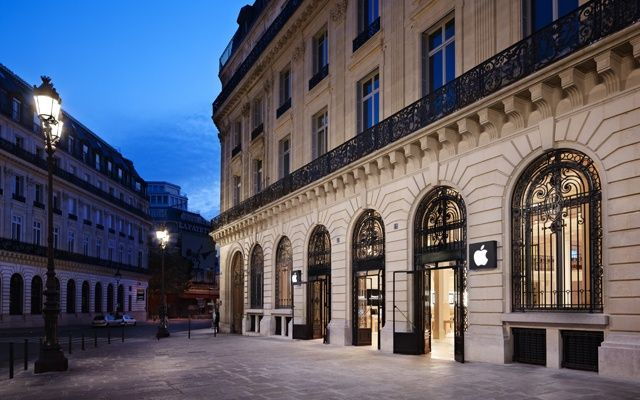 Apple-Paris-store