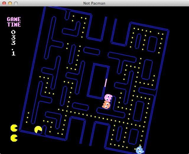 Run Pacman! Run!