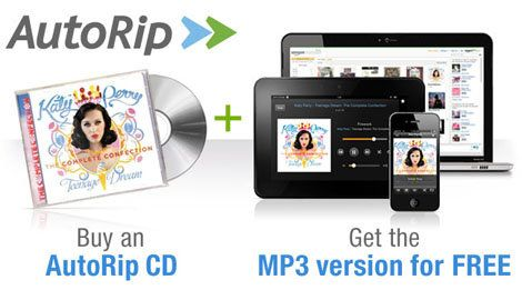 Amazon AutoRip Gives You A Free MP3 Copy Of Every CD You've Bought