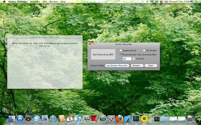 free screen capture video mac