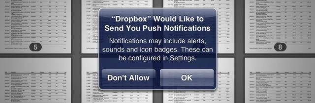Dropbox-push