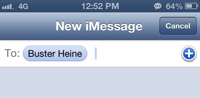 Aah, the iMessage ellipsis.