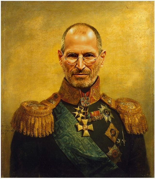 This Portrait Of Russian General Steve Jobs Is Now Ready To Grace Your Living Room