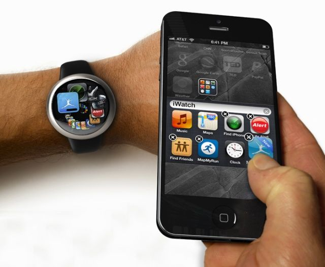 iWatch & iPhone Interaction