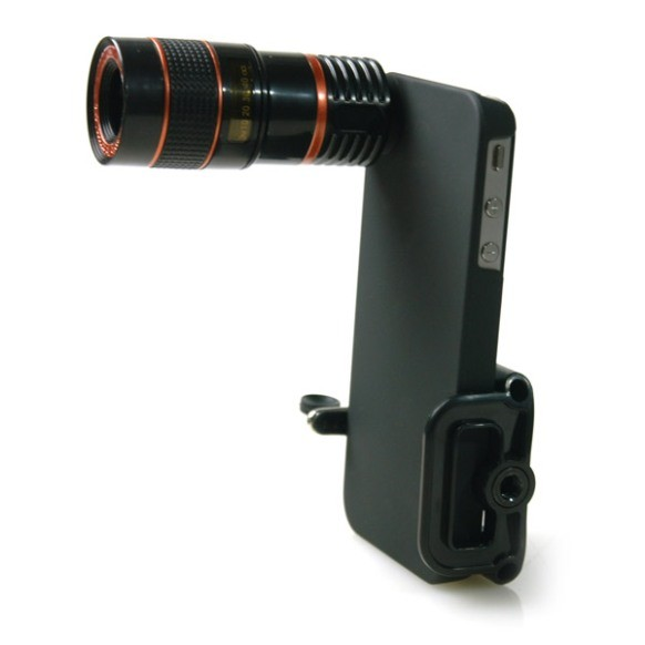 Iphone 4 8x Telephoto Lens With Tripod 1
