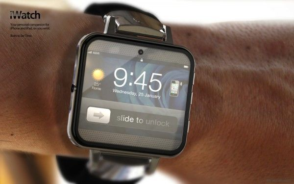 iWatch concept design by ADR Studios.