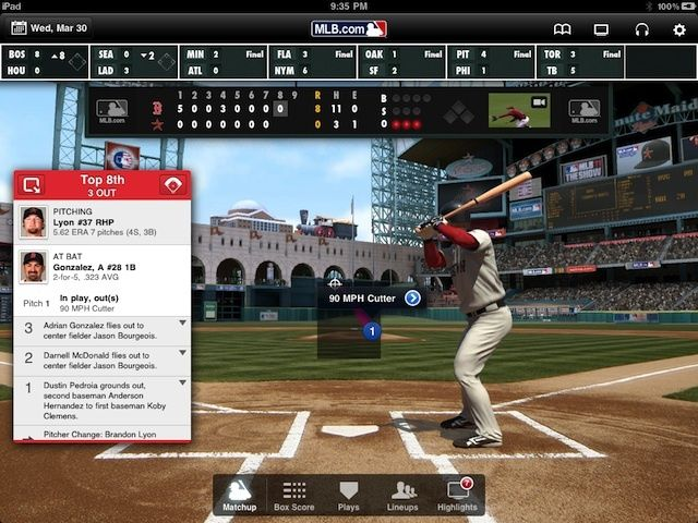 MLB At Bat Got A Huge Update Just In Time For Spring