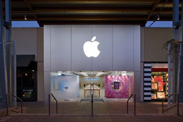 The Apple store in Boulder, Colorado.