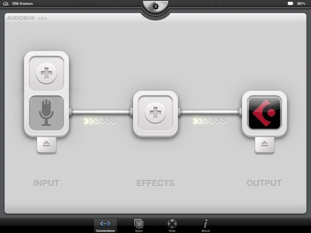 Audiobus is a powerful tool for sending audio in and out of iOS apps.