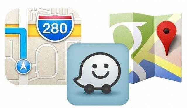 Google-Apple-Waze-icons