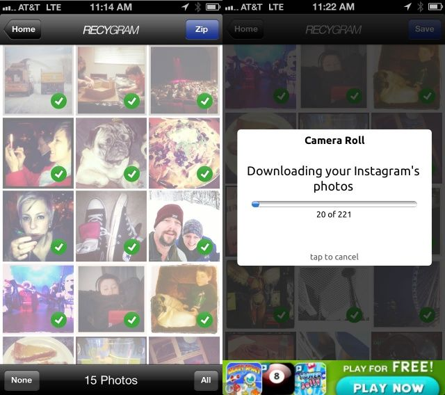 Archive, Batch Send, And Download Your Instagram Photos With