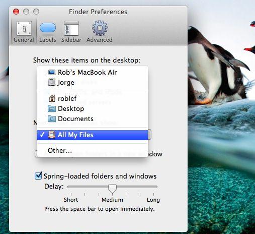 All My Files Finder Windows