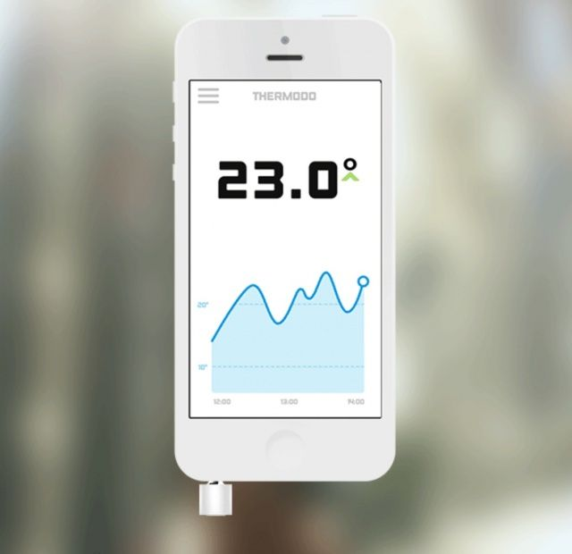 Thermodo A Clever Thermometer That Integrates With Your