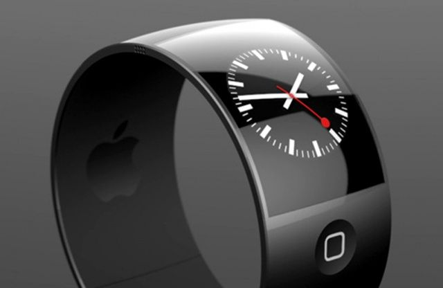 A third-party concept design for the iWatch might look.
