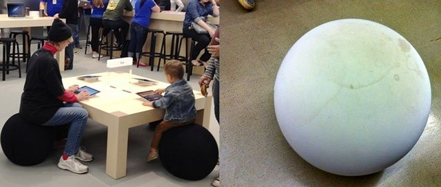 Superieur The Kidsu0027 Furniture At The Apple Store Has A Disgusting Little Secret  [Image]