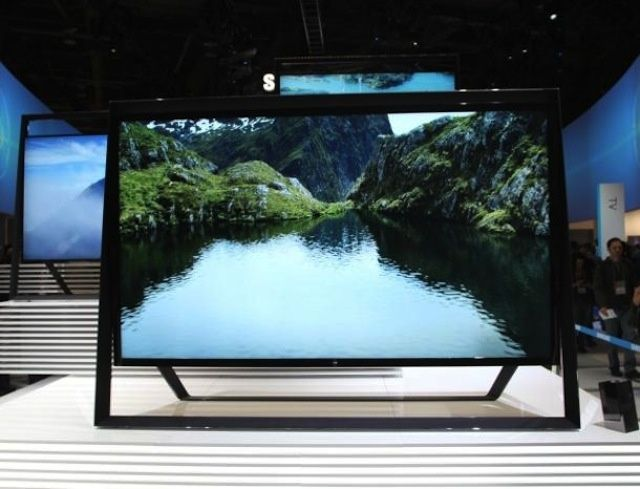 A 4K Ultra HD TV from Samsung.