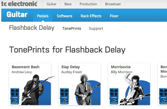 Toneprint web
