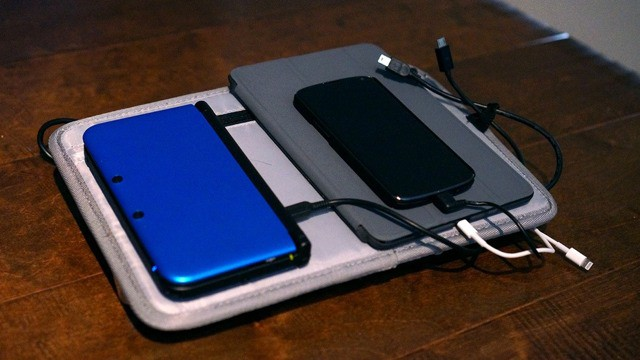 DIY Travel Charging Kit Fashioned From Portable Battery