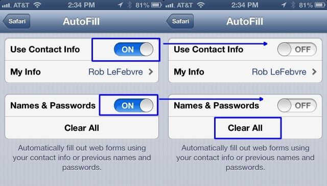 Turn Off AutoFill On Your iPhone Or iPad For Better Privacy [iOS