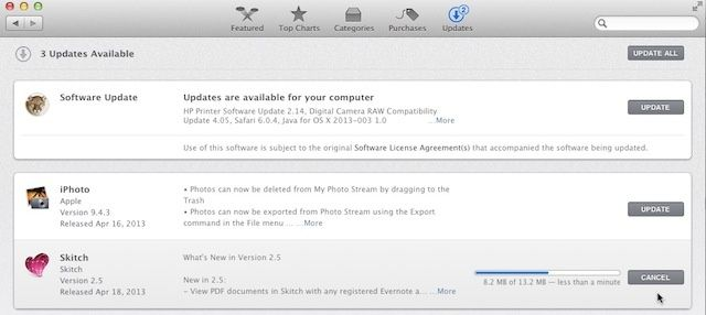 Cancel Instead Of Pausing Your Mac App Store Updates [OS X Tips