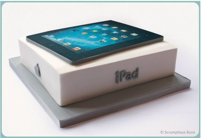 Edible Cake Images Iphone : The 13 Best Apple Computer Cakes Ever Baked [Gallery ...