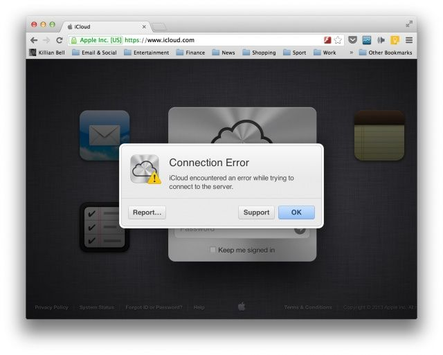 iCloud-connection-error