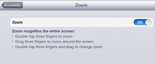 Use Zoom And Large Text Options To Help See Stuff On The Screen Ios