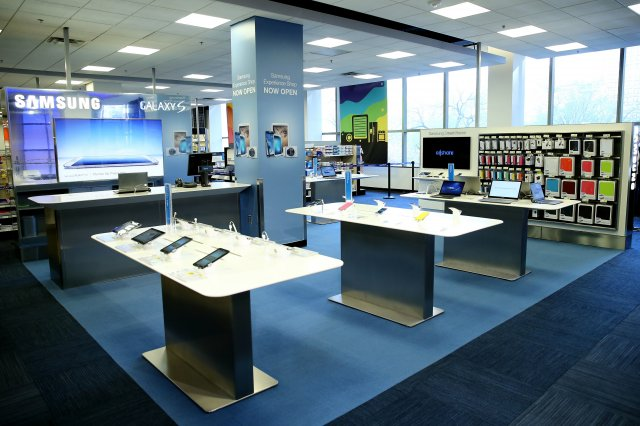 Samsung S Apple Store Clones Begin Popping Up In Best Buy