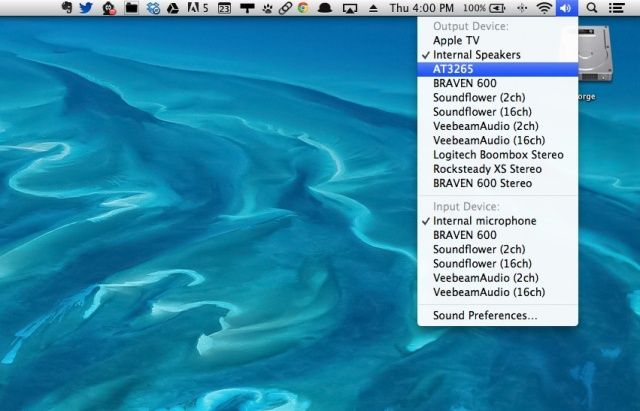Make Your Mac Send Sound Output To Your Giant HDTV [OS X Tips