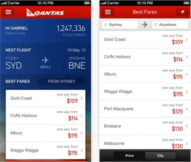 Qantas-iPhone