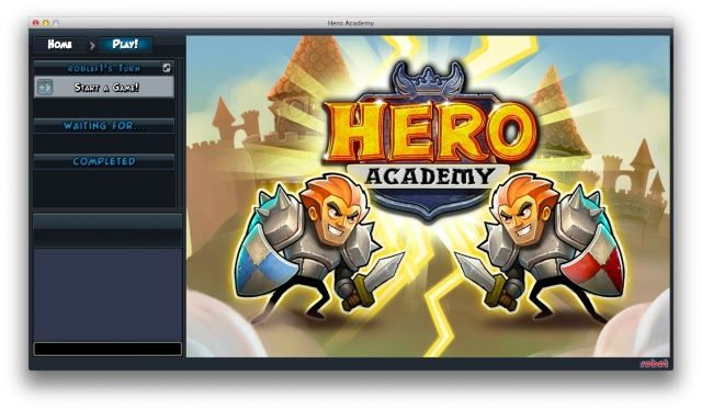 Hero Academy Splash Screen